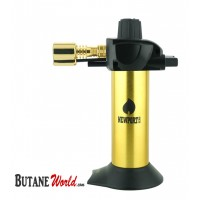 "Newport Zero 5.5"" Mini Torch - Gold and Black"