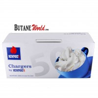 Newport N2O Cream Chargers - 50 Pack