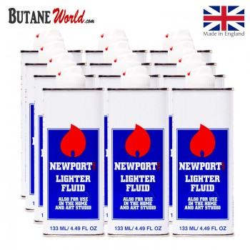 Newport Lighter Fluid 4.49 FL OZ 12 x Cans